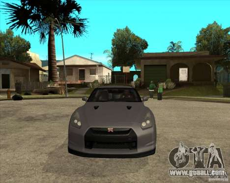 2008 Nissan GTR R35 for GTA San Andreas