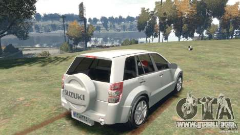 Suzuki Grand Vitara for GTA 4 left view