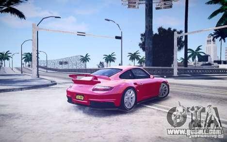 Porsche 977 GT2 for GTA 4 left view
