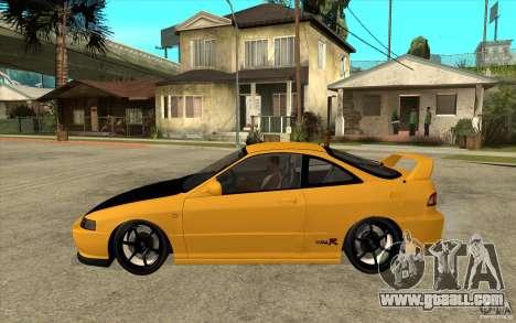 Honda Integra Spoon Version for GTA San Andreas left view