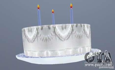 Happy Birthday Grenades for GTA San Andreas second screenshot