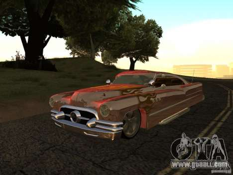 Buick Custom 1950 LowRider 1.0 for GTA San Andreas back left view