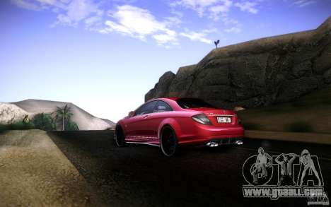 Mercedes Benz CL65 AMG for GTA San Andreas right view