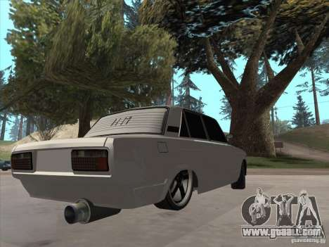 VAZ 2105 Light Tuning for GTA San Andreas left view