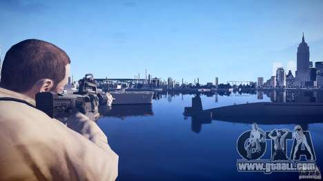 New M4 for GTA 4 second screenshot