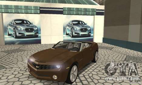 Chevrolet Camaro Concept 2007 for GTA San Andreas left view