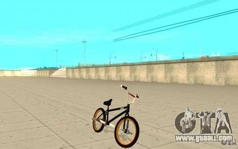 REAL Street BMX for GTA San Andreas