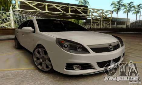 Opel Vectra C 2005 for GTA San Andreas back left view