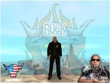Dwayne The Rock Johnson for GTA San Andreas