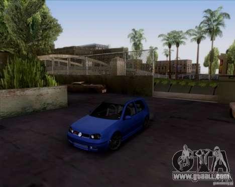 Volkswagen Golf GTi 2003 for GTA San Andreas