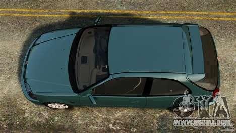 Honda Civic Type R (EK9) for GTA 4 right view