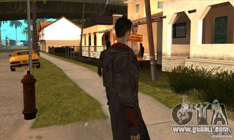 Dante from Devil May Cry for GTA San Andreas fifth screenshot