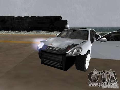 Porsche Panamera Turbo Tunable for GTA San Andreas inner view