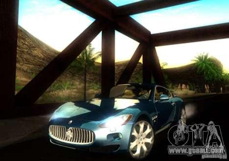 Maserati Gran Turismo for GTA San Andreas left view