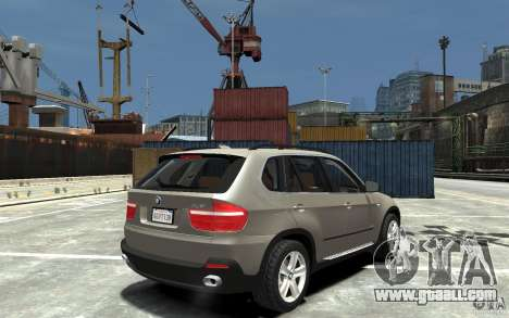 BMW X5 2009 for GTA 4 right view