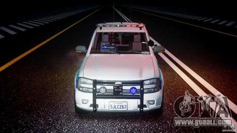 Chevrolet Trailblazer Police V1.5PD [ELS] for GTA 4 upper view