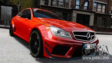 Mercedes-Benz C63 AMG 2012 for GTA 4