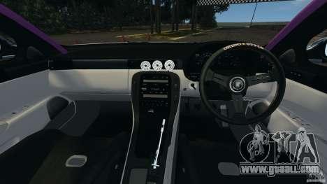 Toyota Soarer Drift for GTA 4 back view