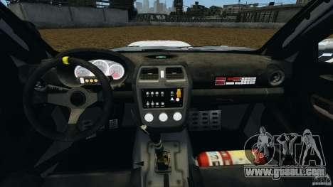 Subaru Impreza WRX STI N12 for GTA 4 back view