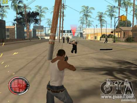 Addition to the GTA IV HUD for GTA San Andreas eighth screenshot