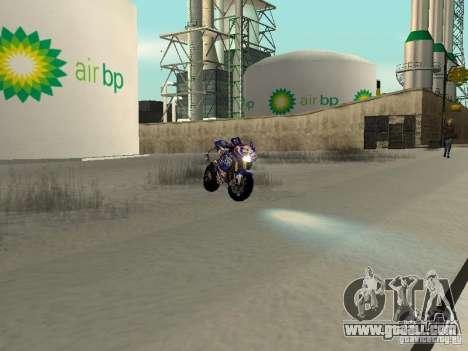 New NRG-500 for GTA San Andreas back view