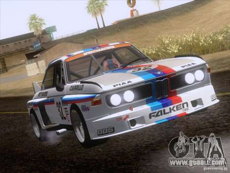 BMW CSL GR4 for GTA San Andreas inner view
