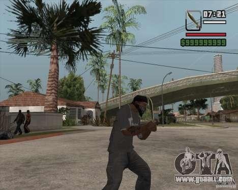 Steep Knife for GTA San Andreas second screenshot