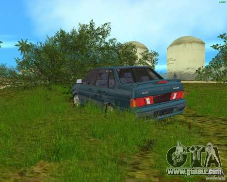 Lada 2115 for GTA Vice City left view