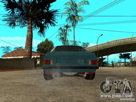 Ford Escort Mk2 for GTA San Andreas back left view