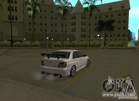 Subaru Impreza WRX STI-Street Racing for GTA San Andreas wheels