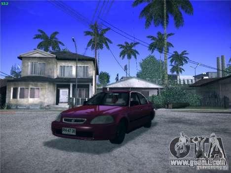 Honda Civic Sedan 1997 for GTA San Andreas
