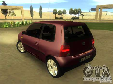 Volkswagen Lupo for GTA San Andreas back left view