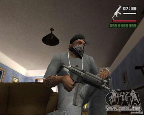 Mp5HD for GTA San Andreas