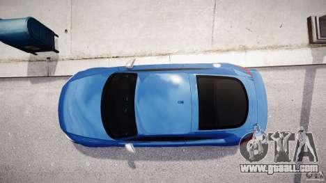 Audi TT RS Coupe v1 for GTA 4 upper view