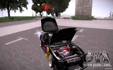 Mazda RX7 Madmikes Redbull for GTA San Andreas upper view