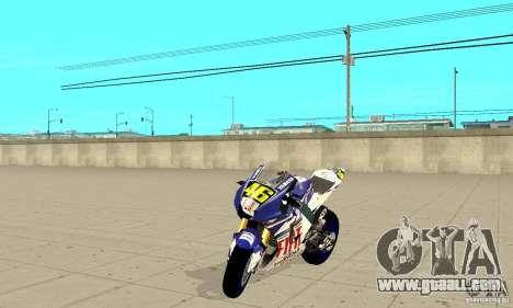 Honda Valentino Rossi Nrg500 for GTA San Andreas