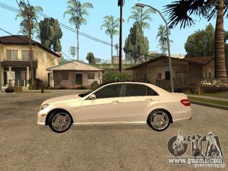 Mercedes-Bens e63 AMG for GTA San Andreas left view