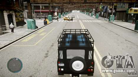 Land Rover Defender for GTA 4 right view