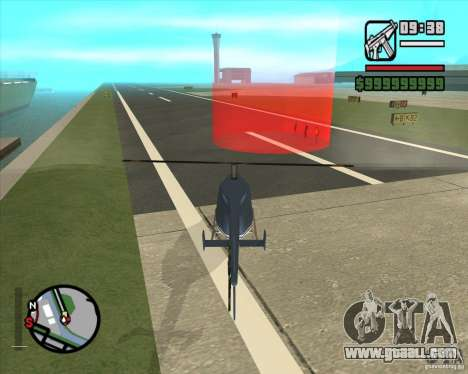 Job pilot for GTA San Andreas third screenshot