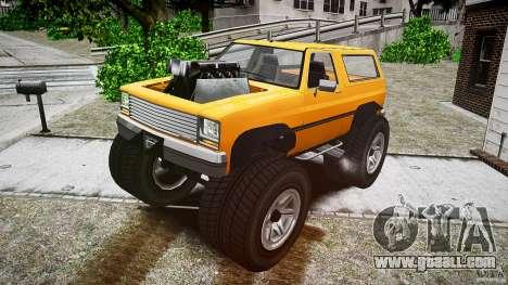 MonsterTruck for GTA 4