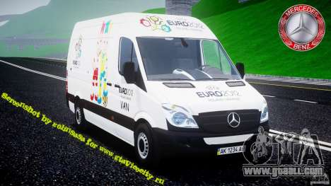 Mercedes-Benz Sprinter Euro 2012 for GTA 4