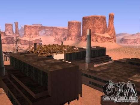 Chernobyl MOD v1 for GTA San Andreas third screenshot
