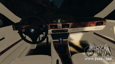 BMW 330i E92 for GTA 4 back view
