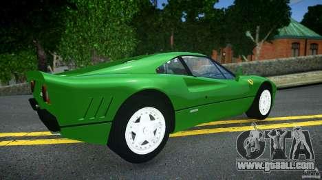 Ferrari 288 GTO EPM for GTA 4 back left view