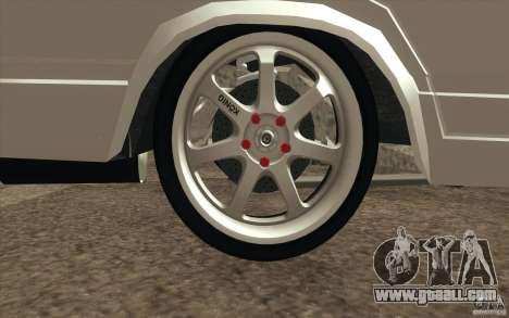 Vaz Lada 2107 Drift for GTA San Andreas interior