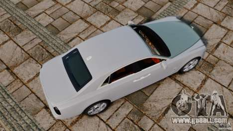 Rolls-Royce Ghost 2012 for GTA 4 right view