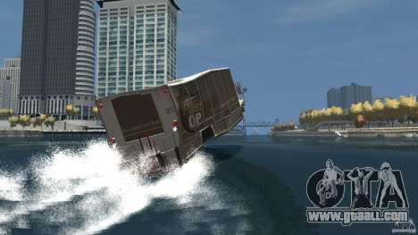 Benson boat for GTA 4 bottom view