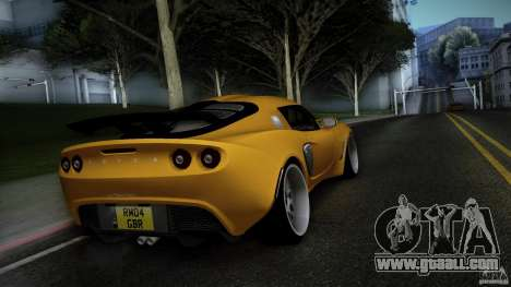 Lotus Exige Track Car for GTA San Andreas back left view