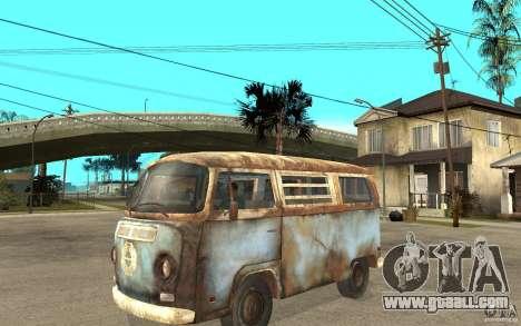 Dharma-Van (VW Typ 2 T2a) for GTA San Andreas