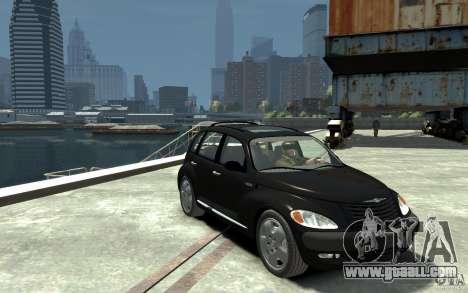 Chrysler PT Cruiser for GTA 4 back view